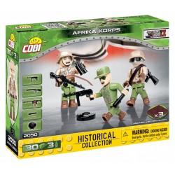 3 figurky s doplňky Afrika Korps, 30 k