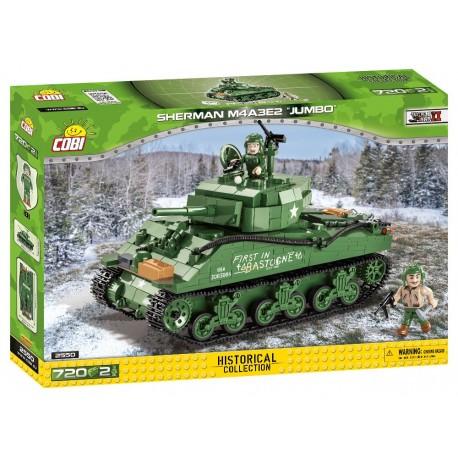 II WW Sherman M4A3E2 Jumbo, 720 k, 2 f