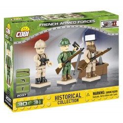 3 figurky s doplňky French Armed Forces, 30 k