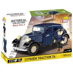 1934 Citroën Traction 7A, 1:35, 222 k, 1 f